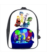 School bag 3 sizes inside out anger disgust sadness fear - $39.00+