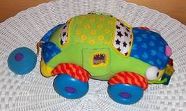 """Lamaze Soft Little Stars 10"""" Bright Toddler Rolling Car - Ready for Spec... - $7.95"""