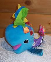 """Lamaze Soft 10"""" Bright Franky the Hanky Whale - Ready for Special Baby Fun - $7.95"""