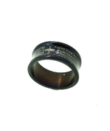 Titanium Ring - Lords Prayer in Spanish  - $15.00