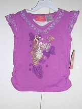 SOUTH POLE Toddler Girls Purple T-SHIRT Size-4T NEW - $13.57