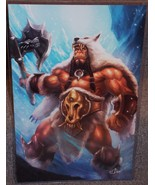 World Of warcraft Durotan Glossy Print 11 x 17 In Hard Plastic Sleeve - $24.99