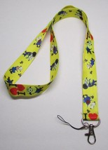 I Love MINIONs Despicable Me LANYARD KEY CHAIN Ring Keychain ID Holder NEW - $9.99