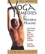 Yoga Journal's Yoga Remedies for Natural Healing (VHS, 1998) - $3.96