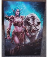 WOW Tyrande Whisperwind Glossy Print 11 x 17 In... - $24.99