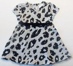 Absorba Toddler Girls Black Gray Dress Size 24 Months NWT - $17.44