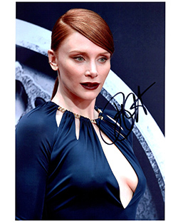 Primary image for BRYCE DALLAS HOWARD  Authentic Original  SIGNED AUTOGRAPHED PHOTO w/ COA 1604