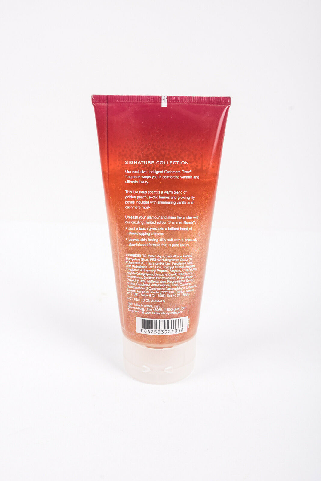 Bath & Body Works Womens Cashmere Glow Shimmer Bomb 6 Oz Full Size Rare image 2