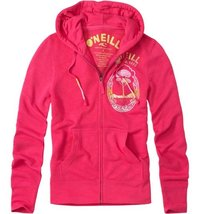 WOMEN'S GIRLS  JRS  O'NEILL ASHA PINK ZIP UP  HOODIE  NEW $55 - $32.99