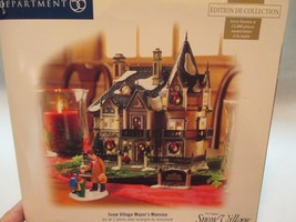 Dept 56 Original Snow Village Mayor's Mansion 56 55607 LNIB - ₨7,151.11 INR