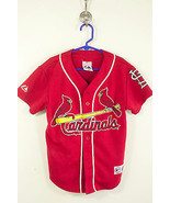 Child's Small Red St. Louis Cardinals Jersey Pujols (44) - $23.99