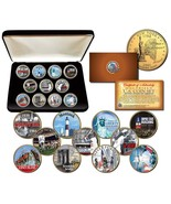 NEW YORK STATE COLLECTION Colorized NY Quarters... - €25,72 EUR