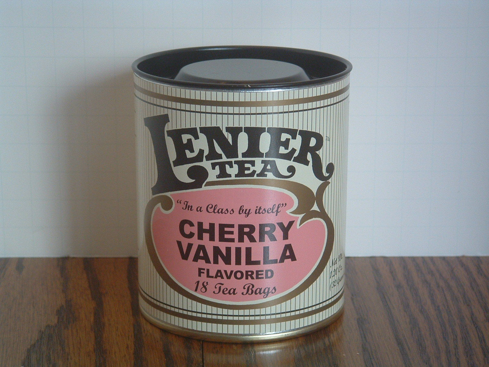 Primary image for Lenier's Cherry Vanilla Flavored 18 tea bags Free Shipping