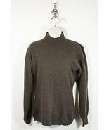 Womens Angora Rabbit Hair & Lambs Wool Brown Sweater Size S - $25.00