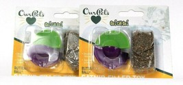2 Count Our Pets Go Cat Go Butterfly Ball Catnip Filled Toy Bounces & Spins - £11.31 GBP