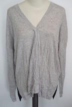 VINCE | Superwash Colorblock Sweater sz L -V297476021 women's gray -wea... - $2.037,65 MXN
