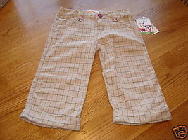 Roxy Teenie Wahine girls pants  M 5  NWT 36.00 ^^ - $23.75