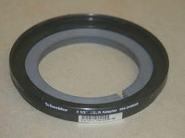 """Tiffen Schneider 80SSLR 4 1/2"""" 80mm to 4.5"""" Adapter Ring  SSLR 94-240045 248045 - $150.00"""