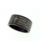 Ring - Titanium - Lord's Prayer in Spanish - $15.00