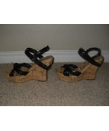 Jessica Simpson New Sexy Black Strappy Wedge Heels Sandals Medium (B,M) ... - $47.99