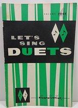 """""""Let's Sing Duets"""" (Volume Four) [Paperback] [Jan 01, 1963] John  W. Pet... - $3.60"""