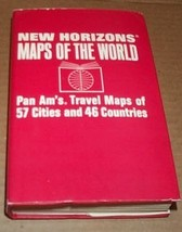 New Horizons. Maps of the World. Pan Am's Travel Maps of 57 Cities and 4... - $9.85