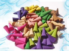 Haunted FREEBIE SPRING MIX OF INCENSE CONES CLEANSING MAGICK WITCH Cassia4  - Freebie