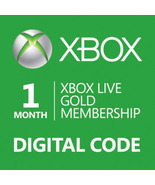 1-Month Xbox 360/ONE Live Membership Gold Card ... - $14.90