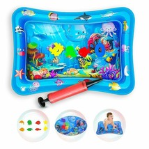 Tummy Time Mat, Inflatable Play Activity Center for 3 Months and Up image 2