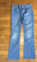 * childrens place medium wash boot cut blue jeans stretch denim pants 10... - $6.93