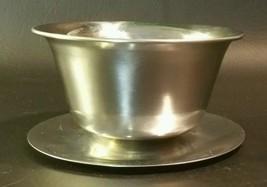 Stainless Gravy Bowl Denmark 18-8 - $5.94