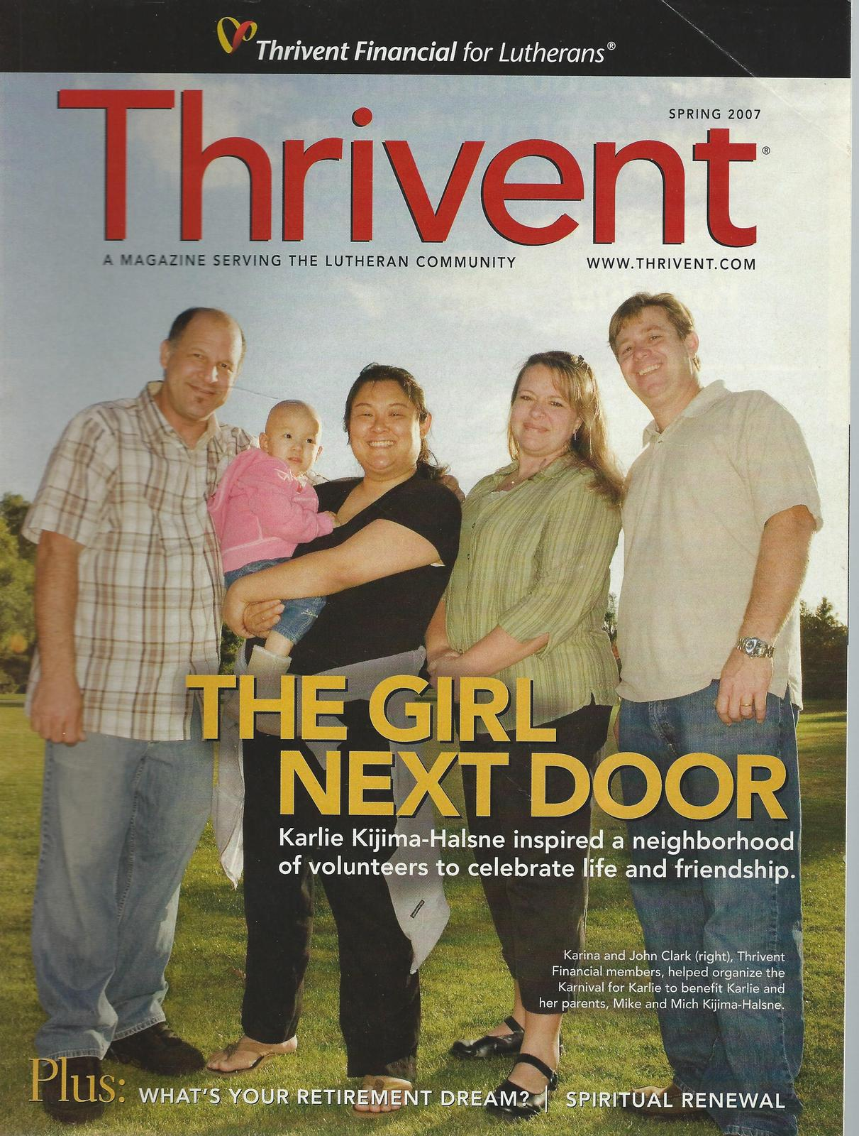 20)THRIVENT 2005-2010-2012,2014 MONEY/FINANCES/INSURANCE/HEALTH;SAVINGS;RETIREME