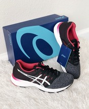 ✨New ASICS Gel Exalt 4 Running Sneakers Carbon Cosmo Pink Womens Size 7 ... - $70.13