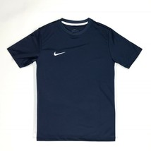 New Nike Park VI Short Sleeve Training Jersey Youth M Shirt 899983 Navy ... - $11.14