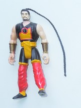 "1994 Kenner The Shadow Battle Shiwan Khan 5.5"" Action Figure - $4.99"