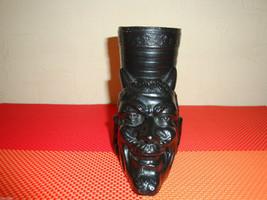 #1 Rare Antique Soviet ashtray metal Devil VTG ... - $99.99