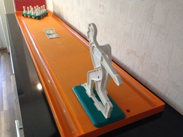 Vintage Bowling Kegelban Game in great condition 1987 Old Russian Soviet... - $299.99