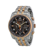 Citizen Men's AT9016-56H Eco Drive World Time A-T Grey Dial Watch NEW IN BOX  - $321.73