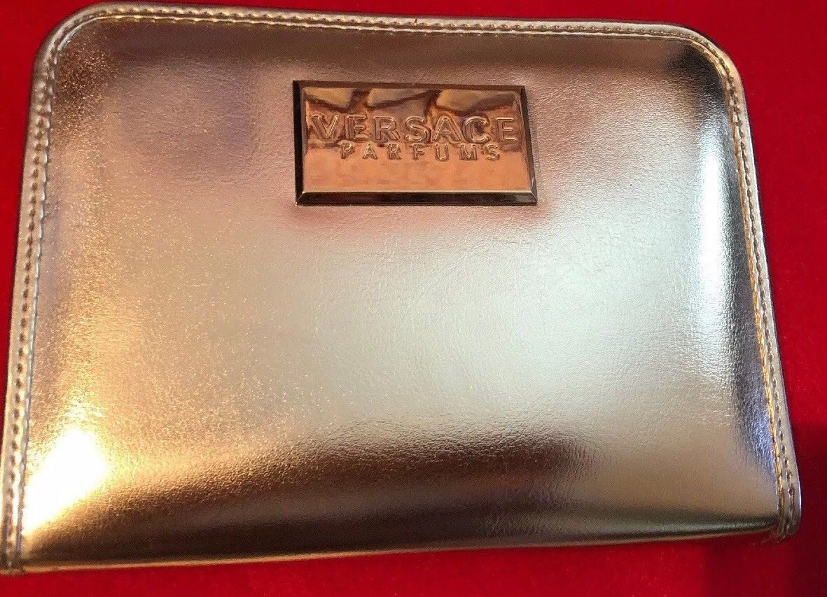 Primary image for VERSACE PARFUMS PURSE/CLUTCH GOLD  Elegant