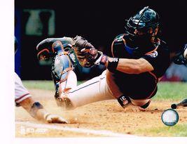 Mike Piazza New York Mets Catch 2 Vintage 8X10 Color Baseball Memorabilia Photo - $5.99