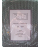 ALEXA HAMPTON HOME EGYPTIAN COTTON BLANKET - $24.00