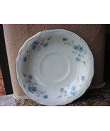 Johann Haviland Bavaria Germany Blue Garland China Saucer Mint - $3.96