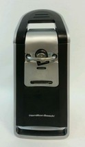 Hamilton Beach Electric Smooth Touch Can Opener Black & Chrome Model 76607 - $19.78