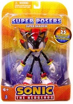 """Sonic The Hedgehog: Super Posers Super Shadow 5"""" Action Figure Brand NEW!  - ₹3,598.08 INR"""