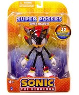 """Sonic The Hedgehog: Super Posers Super Shadow 5"""" Action Figure Brand NEW!  - $49.99"""