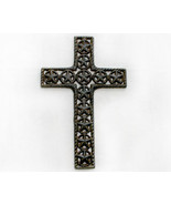 Inspirational Cast Iron Wall Cross With Stars in Circles - $16.98