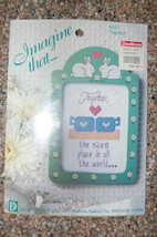 Imagine That Counted Cross Stitch Kit #6107 Together with Frame - $7.00