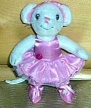 "Angelina Ballerina Mini Mouse Plush 6"" in Pink Ballet Outfit Ready for P... - $5.49"