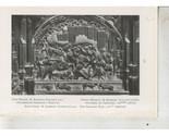 Catedral de Toledo: lamina 03: Silleria de la Guerra de Granada en el coro mayor