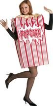 Rasta Imposta Movie Night Popcorn Funny Adult Unisex Halloween Costume GC7159 - £38.29 GBP